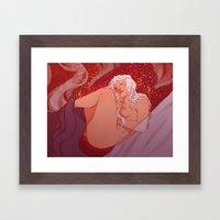 Fireandblood Framed Art Print