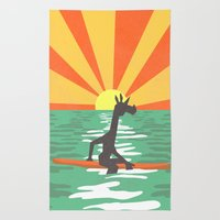 Surf Unicorn Rug