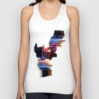 psychedelic Love Unisex Tank Top