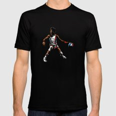 DR. J: On the Offensive SMALL Black Mens Fitted Tee