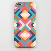 Colorful Geometric iPhone 6 Slim Case