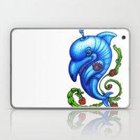 Dolphin Blue Laptop & iPad Skin