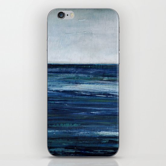 abstract seascape iPhone & iPod Skin