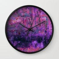 Saltwater Pink Wall Clock