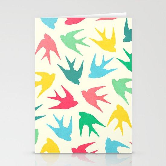 Birds Stationery Card