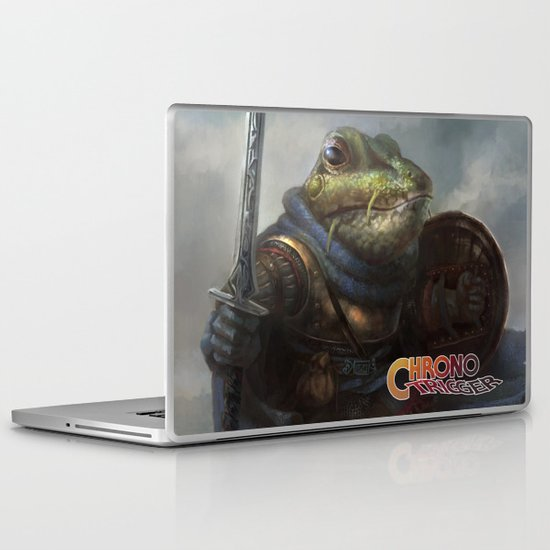 A knightly Frog  Laptop & iPad Skin