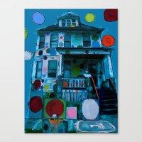 Detroit Heidelberg Project Canvas Print