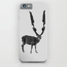 gun deer iPhone 6 Slim Case
