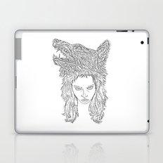 Wolf Girl Laptop & iPad Skin