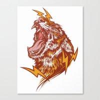 Tiger Shock Canvas Print