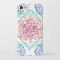 indian iPhone & iPod Cases featuring Indian Ink - Rainbow version by micklyn