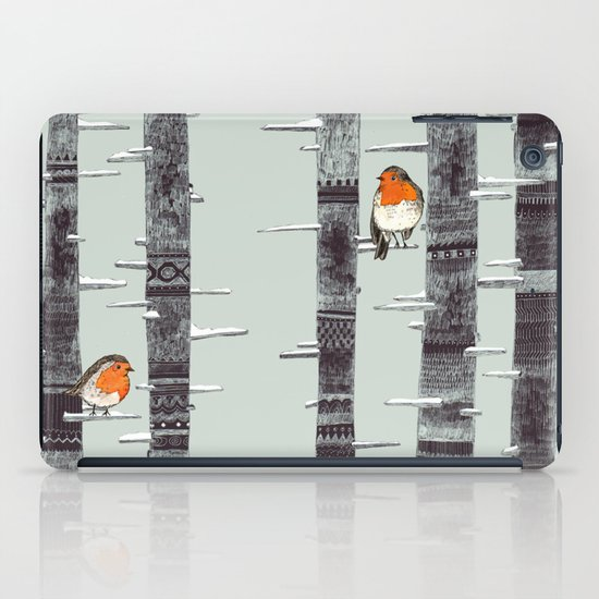 Robin Trees iPad Case