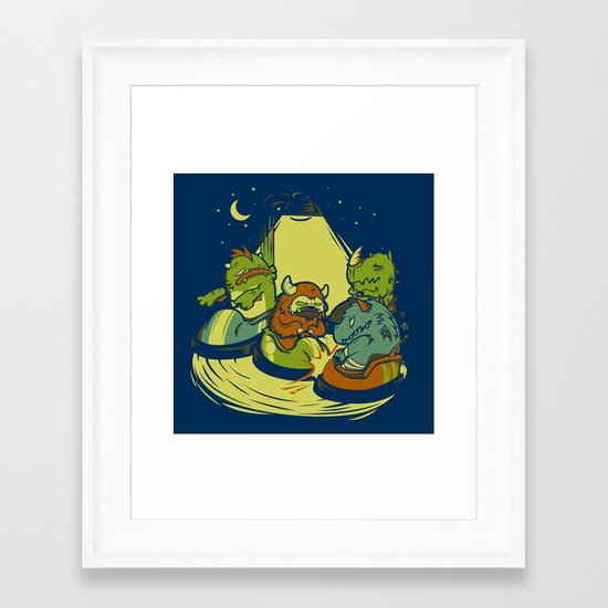 Things that go Bump in the Night Framed Art Print