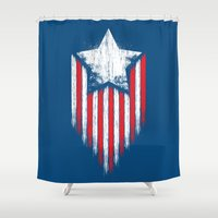 Star & Stripes Shower Curtain