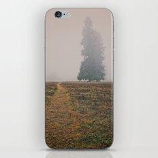 Hiking in the Fog iPhone & iPod Skin