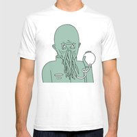 Ood Mens Fitted Tee White SMALL