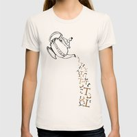 Tea Womens Fitted Tee Natural SMALL