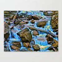 The Runoff Canvas Print