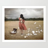 Something To Cling To Art Print