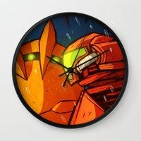 Samus (Metroid) Wall Clock