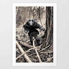 Goblin Woods Art Print