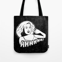 Classic horror movie scream Tote Bag
