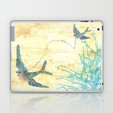 Birds of blue Laptop & iPad Skin