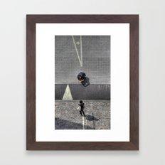 All Lined Up Framed Art Print
