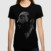 Marvin Gaye Womens Fitted Tee Black SMALL