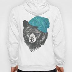 Zissou The Bear In Blue Hoody