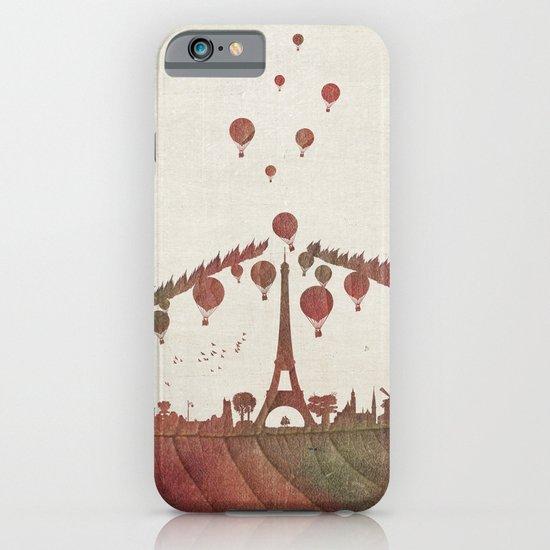 Magical Flight over Paris iPhone & iPod Case