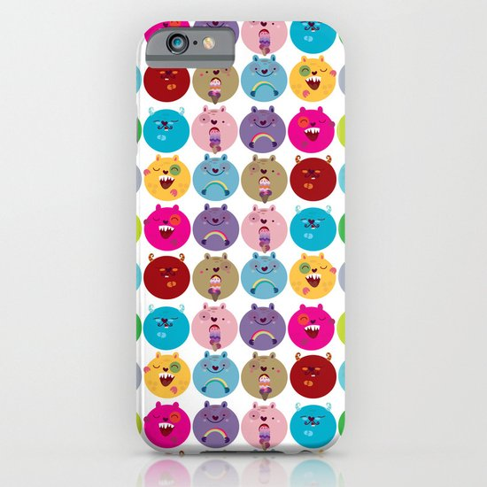 Cute bunnyballs iPhone & iPod Case