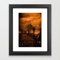 Samhain Contemplative --… Framed Art Print