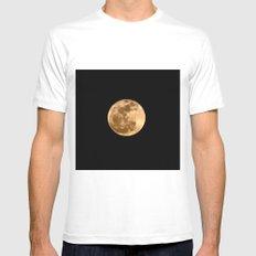 La Luna 3 White SMALL Mens Fitted Tee