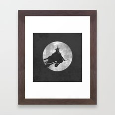 The Witch King Framed Art Print