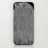 iPhone & iPod Case featuring slaughterhouse V - everything was beautiful - vonnegut by miles to go
