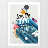 Everything Forever Art Print