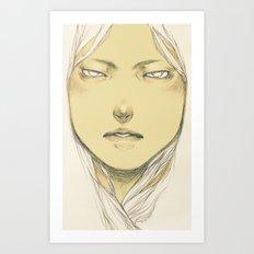 (self-loathing) Art Print