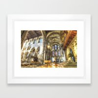 Rochester Cathedral Art Framed Art Print
