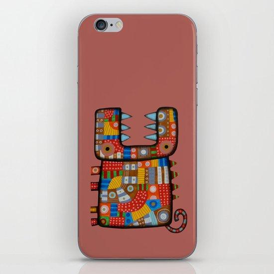 Dog hippo iPhone & iPod Skin