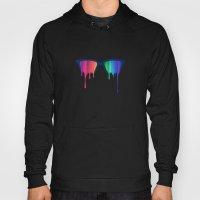 Love Wins! Rainbow - Spectrum (Pride) / Hipster Nerd Glasses Hoody