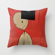 Silas Imperator Throw Pillow