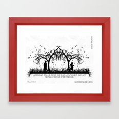Wuthering Heights Framed Art Print