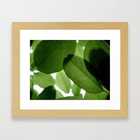 It Ain't Easy Being Green Framed Art Print