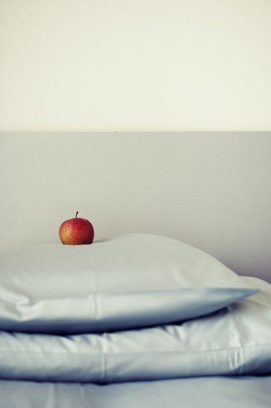 an apple a day ... Art Print