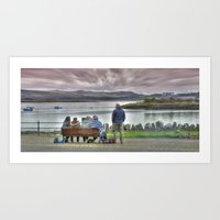 Takin' It Easy In Millpo… Art Print