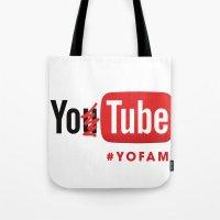 YOTUBE Tote Bag