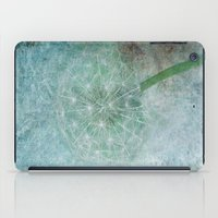 Delicate And Blue  iPad Case