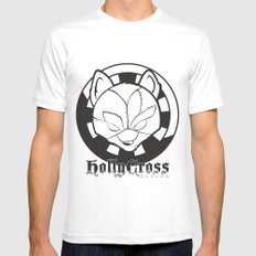 Starfoxxx BW Mens Fitted Tee SMALL White