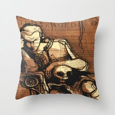 Hamlet Prince of Denmark Throw Pillow